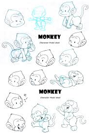 these are monkey character design for a mobile game