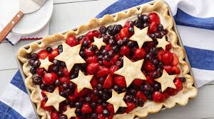 American Flag Pie Recipe 4th Of July Recipes Pillsbury Com