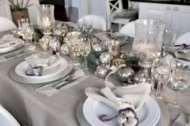 New Years Eve Table Decorations Elegant Silver Decorations For New Year U0027s Eve Accent On Design