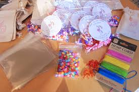 jewelry party favors unicorn party favor jewelry kit is made with