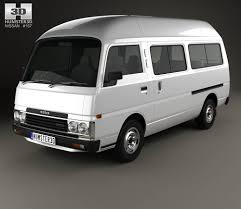 nissan caravan 2006 nissan caravan urvan lwb hr 1985 3d model hum3d