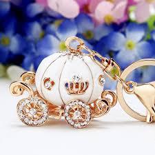 boy baby shower favors 1pc cinderella pumpkin carriage keychain birthday boy baby shower