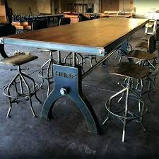 Industrial Dining Room Tables Industrial Style Dining Table Industrial Style Dining Table Bl Kl