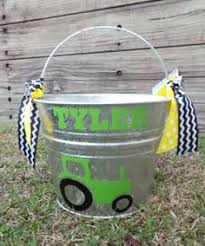 easter pail personalized easter assorted colors 5 qt 22 00 via etsy