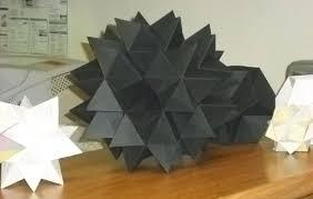 Cardboard Origami - my s mathematical origami make meow