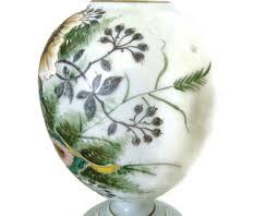 Milk Glass Vase Victorian Milk Glass Vase Omero Home