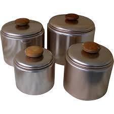 vonshef set of 3 copper tea coffee sugar canisters kitchen storage