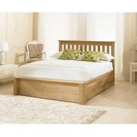 Emporia Beds Monaco Oak Ottoman Bed All Things Bedroom Living