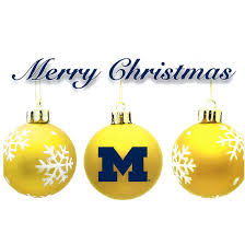 fanatic cards university of michigan christmas cards 10 pack