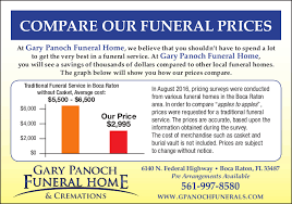 burial vault prices gary panoch funeral home and cremations boca raton fl funeral