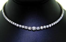 diamond necklace images Amazing brilliance in classic diamond necklace ll pavorsky jpg