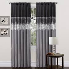 Grey Kitchen Curtains by Curtains And Drapes Navy And White Curtains Kitchen Curtains