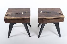 nightstand splendid wooden table industrial nightstand bedroom