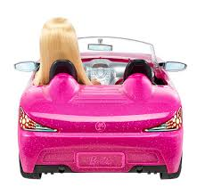 real barbie cars barbie glam convertible vehicle walmart canada