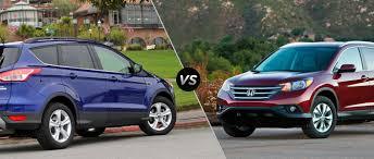 honda cr v vs lexus ford escape vs 2015 honda cr v