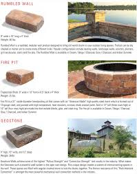 Rumblestone Fire Pit Insert by Rumblestone Collection Flagstone Pavers