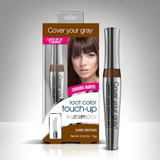 Hair Color To Cover Gray Cover Your Gray Waterproof Root Color Touch Up Dark Brown Pack