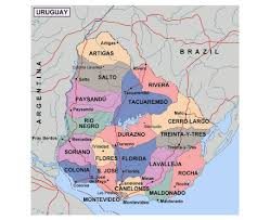 Florida Political Map by Maps Of Uruguay Detailed Map Of Uruguay In English Tourist Map
