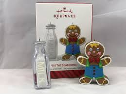 hallmark keepsake tis the season gingerbread milk jug