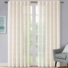 Tab Top Sheer Curtain Panels Tab Top Curtains Joss U0026 Main