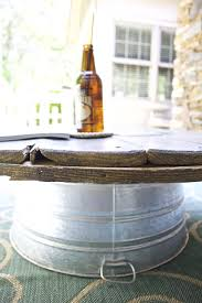 Wire Spool Table Wire Spool Diy Coffee Table 2 Bees In A Pod