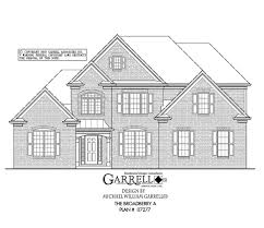 traditional two story house plans broadberry a house plan house plans by garrell associates inc