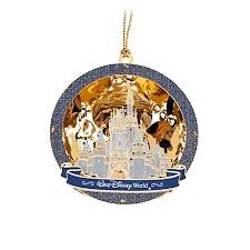 ornament baldwin cinderella castle 24 k
