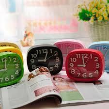 needed metal modern desk clock marku home design