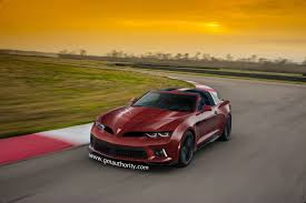 Pictures Of The New Pontiac Firebird Pontiac Firebrid Transam Based On 2016 Camaro Gm Authority