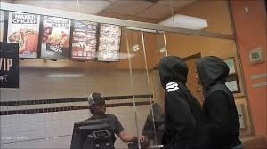 burger king thanksgiving hours video bulletproof glass at detroit wendy u0027s burger king taco bell