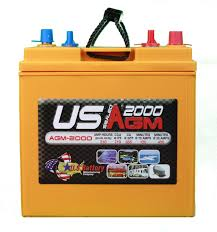 us battery 2000 agm golf cart product information and