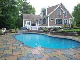 Pool Patio Design Swimming Pool Patio Designs Nh Landscape Architects