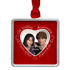 11 year anniversary ornaments keepsake ornaments zazzle