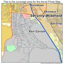 fort carson map aerial photography map of fort carson co colorado