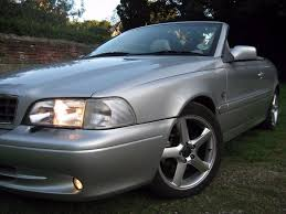 volvo c70 t5 turbo gt convertible rare manual 5 speed 12m mot