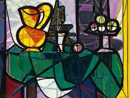 pablo picasso and georges braque invented cubism a form of painting that featured simple geometric shapes he is also known for making collages gluing