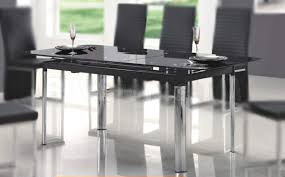 dining room having chairs wooden amazing glass legs simple