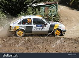 opel kadett rally car kocaeli turkey june 12 2016 yilmaz stock photo 442658188