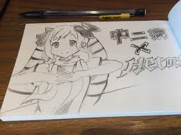 a quick sketch of chuuni elise fireemblemheroes