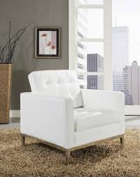 White Accent Chair Best White Leather Accent Chair Living Room Leather Chairs Facil