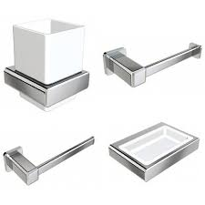 cool design bathroom accessories sets chrome on bathroom set