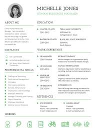 resume templates professional 10 professional fresher resume templates in word pdf format