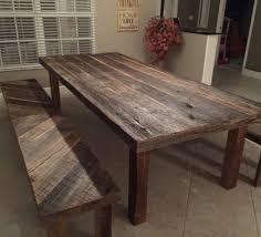 Reclaimed Dining Room Table Orlando Reclaimed Wood Tables Custom Wood Tables