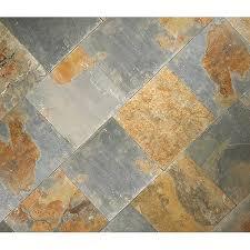 rustic slate floor tiles rona