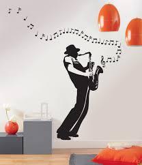 stickers muraux chambre fille ado sticker mural jazzma stu 5830 9119 piècespièce à vivre