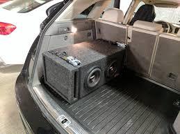 subwoofer install in 2012 audi q5 car audio diymobileaudio com