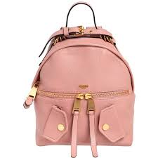 light pink leather backpack moschino women medium pocket leather backpack 1 305 liked on