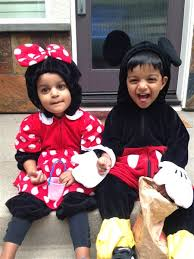 Mickey Minnie Mouse Halloween Costumes Toddlers Double Fun Multiples Dressed