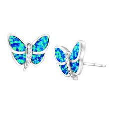 blue opal earrings sale opal jewelry bling bargains