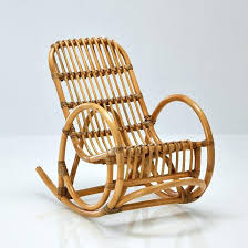 cuisine solutions fauteuil en osier enfant fauteuil enfant rocking chair en rotin malu